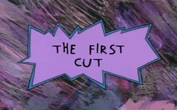 The first cut title card