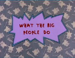Rugrats - What The Big People Dog