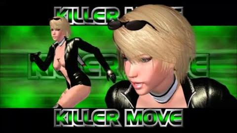 Rumble Roses XX - Rowdy Reiko Killer Move (Sunset Driver)