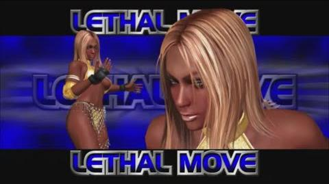 Rumble Roses XX - Sista A Lethal Move (Gold Rush)