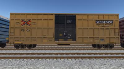 R8 Boxcar 50ft PlateF TTX01