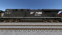 Run8 ES44DC NS