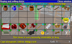 Shop interface old1