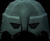 Warrior helm (adamant) detail