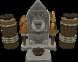 Big High War God shrine