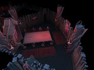 Castle Drakan dining room