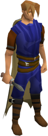 Dagger (class 2) equipped