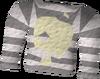 Fishy prison uniform top detail