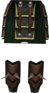 Bandos tassets detail