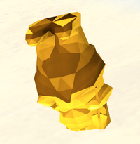 Submerged Golden Gnome