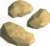 Gold nuggets detail