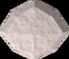 Uncut diamond detail