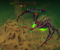 Araxxor leaking acid.png