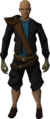 Brawling gloves (Hunter) equipped.png