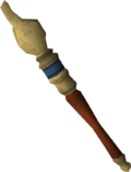 Royal sceptre detail