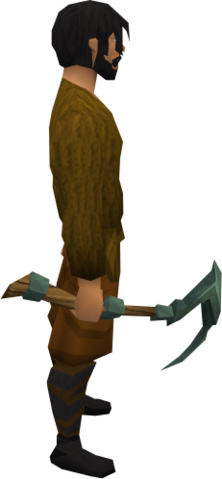 File:Adamant pickaxe equipped.png