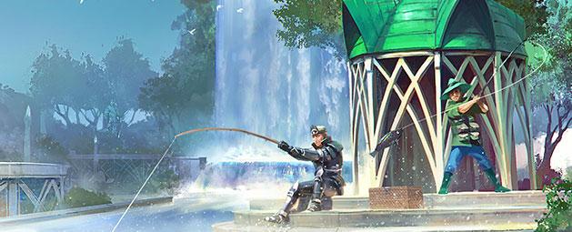 Waterfall Fishing update post header