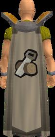 Retro construction cape equipped