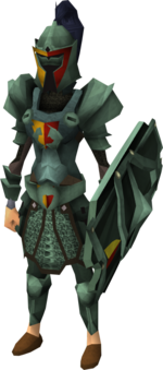 Adamant heraldic armour set 5 (sk) equipped