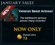 January Sales lobby banner