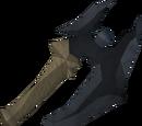 Off-hand primal battleaxe