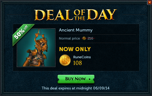 File:Deal of the Day - Ancient Mummy.png