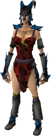 File:Dragon wolf outfit equipped (female).png