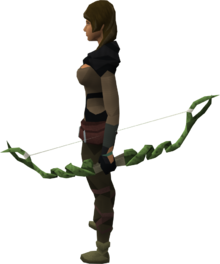 Guthix bow equipped