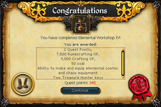 Elemental Workshop IV reward