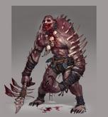 Ravenous ghoul concept art