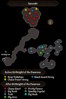 Barendir map