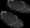 Eastern sandals (brown, female) detail