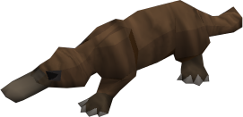 File:Baby platypus (brown) pet.png