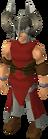 Berserker helm equipped