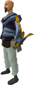 Augmented Armadyl buckler equipped