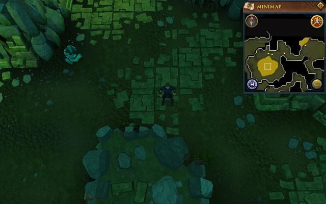 File:Scan clue Brimhaven Dungeon lower level in passage east of north-west chamber with central lava pool.png