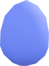 Bird's egg (blue) detail