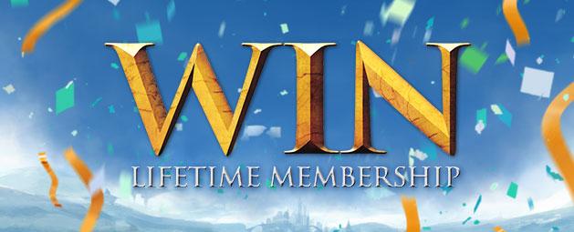 Win Lifetime Membership update post header