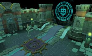 Ancient Prison bank