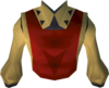 Musketeer's tabard (yellow) detail