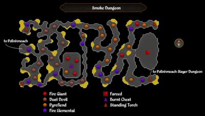 Smoke Dungeon map