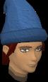 Voting hat blue chathead