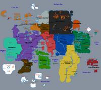 Gielinor Region Map