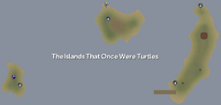 The Islands That Once Were Turtles map