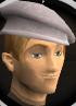 White beret chathead
