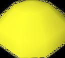 Yellow bead