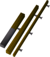 Fly fishing rod (Dungeoneering) detail