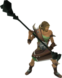 Bandosian battle-mage
