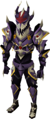 Dragonbone armour equipped