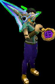 Zaros godsword equipped